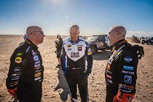 #314 Overdrive Toyota: Erik Van Loon, Sebastien Delaunay, #347 Jefferies and Maxxis Dakar Team: Tim Coronel, Tom Coronel
