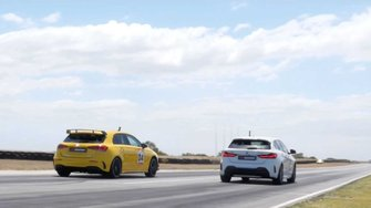 bmw-m135i-mercedes-amg-a35-drag-race-for-hot-hatch-supremacy