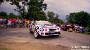 Cezary Fuchs, Robert Ziemski, Toyota Celica GT-Four (ST205), Rajd Polski 1998