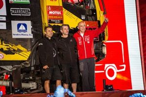 #537 Team Boucou IVECO: Francesc Ester Fernandez, Jean-Francois Cazeres, Jose Martins