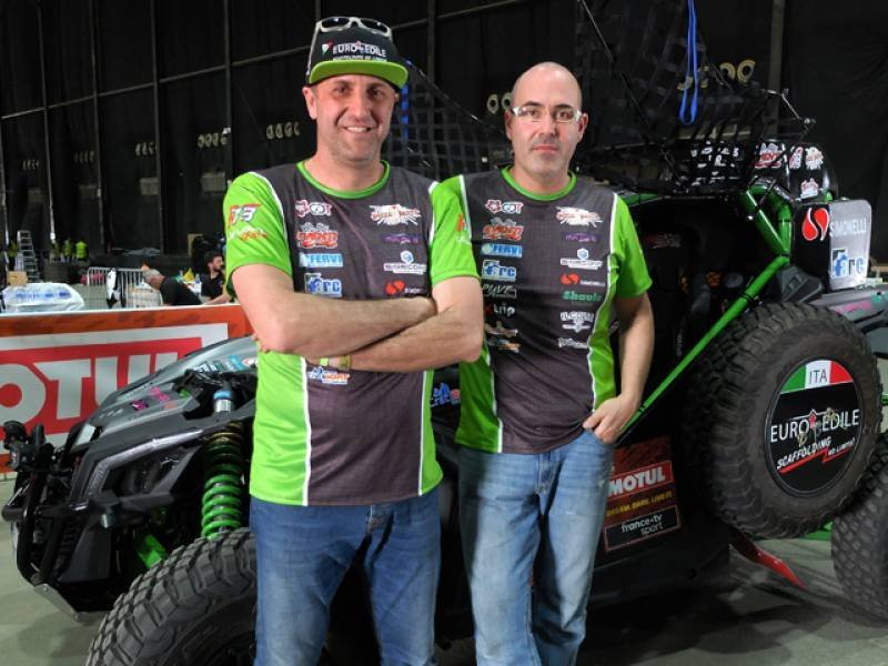 Elvis Borsoi, Stefano Pelloni, Can-Am Maverick X3 XRS