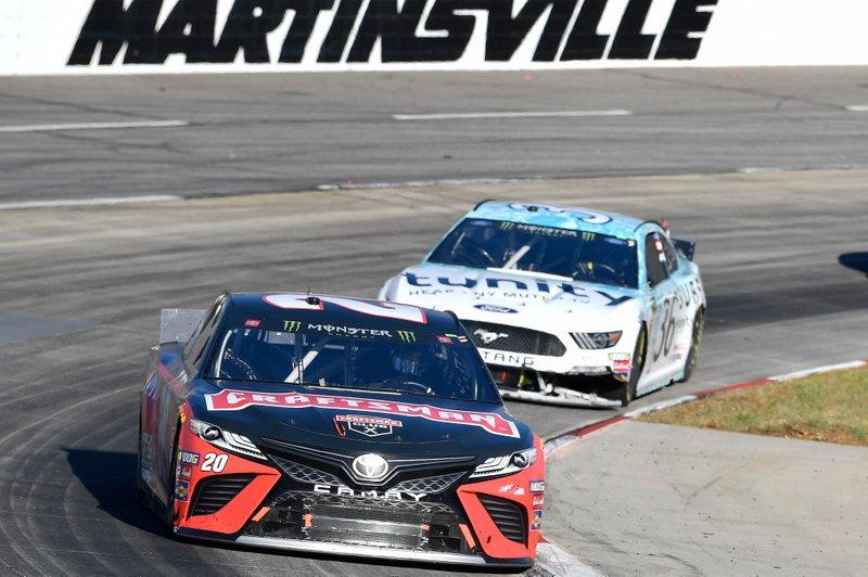 Erik Jones, Joe Gibbs Racing, Toyota Camry Craftsman, Matt Tifft, Front Row Motorsports, Ford Mustang Surface Sunscreen / Tunity