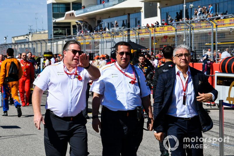 Zak Brown, Executive Director, McLaren and Bahraini shareholder
