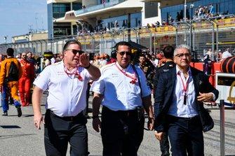 Zak Brown, Executive Director, McLaren and Bahraini shareholder