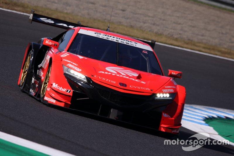 #8 Autobacs Racing Team Aguri Honda NSX-GT: Tomoki Nojiri, Takuya Izawa