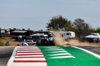 Robert Kubica, Williams FW42 after running wide