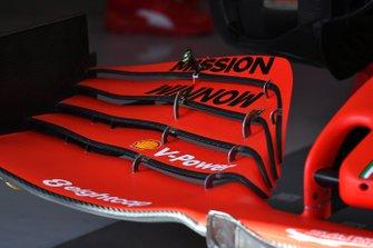 Voorvleugel detail van de Ferrari SF1000