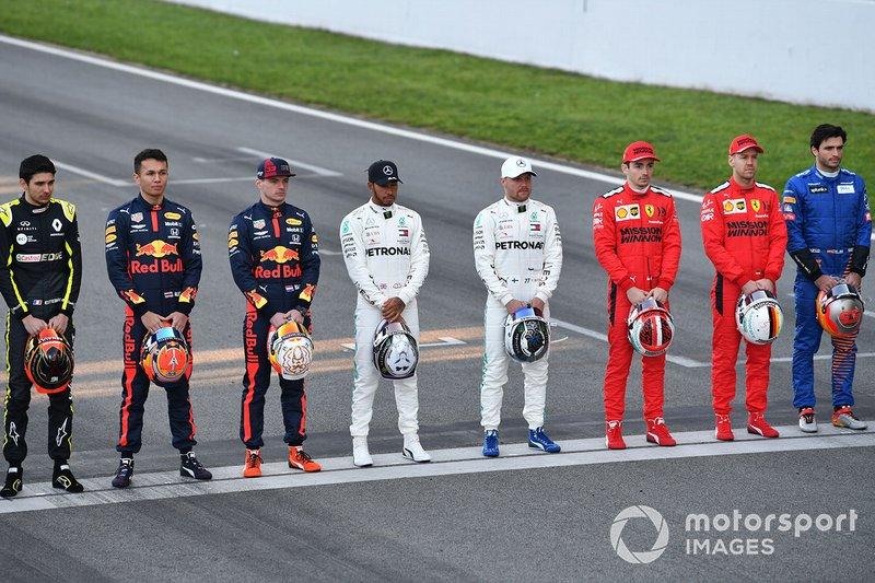 Formel 1 2021: Das Fahrerfeld