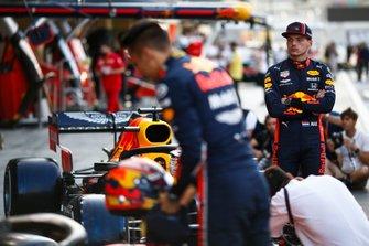 Max Verstappen, Red Bull Racing, en Alexander Albon, Red Bull Racing