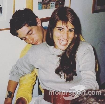 Ayrton Senna e Adriane Yamin