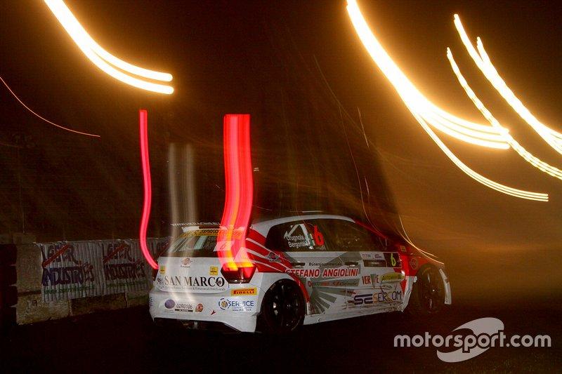 Andrea Crugnola, VW Polo al Monza Rally Show