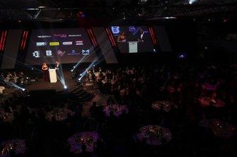 The awards presentations get under way