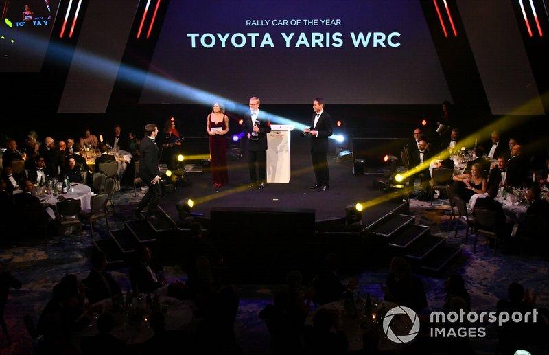 Entrega del premio al Coche de Rally del Año