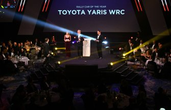 Presentation of the Rally Car of the Year award