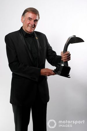Dick Bennetts with his Gregor Grant award