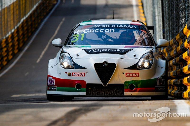 Кевин Чеккон, Alfa Romeo Giulietta TCR