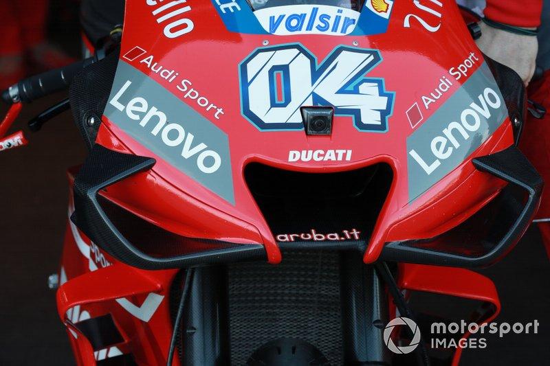 Motor van Andrea Dovizioso, Ducati Team