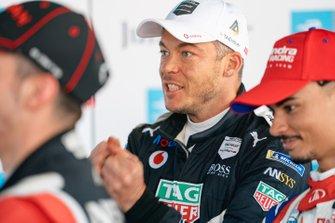 Andre Lotterer, Porsche, waits in Parc Ferme