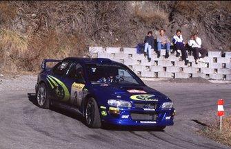 Richard Burn, Subaru al Rally Monte Carlo del 2000