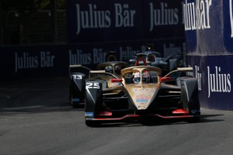 Jean-Eric Vergne, DS Techeetah, DS E-Tense FE20, Antonio Felix da Costa, DS Techeetah, DS E-Tense FE20