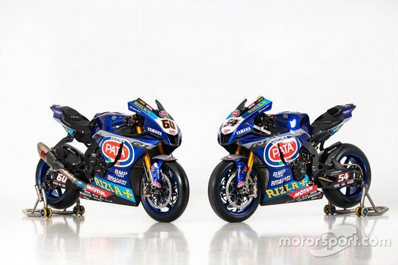 Les motos de Michael van der Mark et Toprak Razgatlioglu, Pata Yamaha
