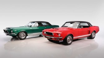 green-hornet-little-red-share-stage-with-2020-shelby-gt500s