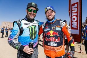 Ken Block and #1 Red Bull KTM Factory Racing: Toby Price