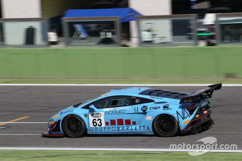 Lamborghini Gallardo GT3 #63, Imperiale Racing, Postiglione-Gagliardini