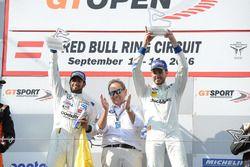Podium: ganadores #2 BMW Team Teo Martin BMW M6 GT3: Gustavo Yacaman, Fernando Monje