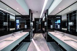 Conference centre bathrooms