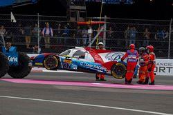 #37 SMP Racing BR01 - Nissan: Vitaly Petrov, Viktor Shaytar, Kirill Ladygin en problemas