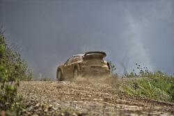 Kris Meeke, Citroën World Rally Team, testet den Citroën C3 WRC 2017