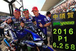 Pole position pour Katsuyuki Nakasuga, Pol Espargaro, Alex Lowes et le Yamaha Factory Racing Team (#21)