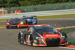#4 Belgian Audi Club Team WRT, Audi R8 LMS: Bertrand Baguette, Pierre Kaffer, Adrien de Leener
