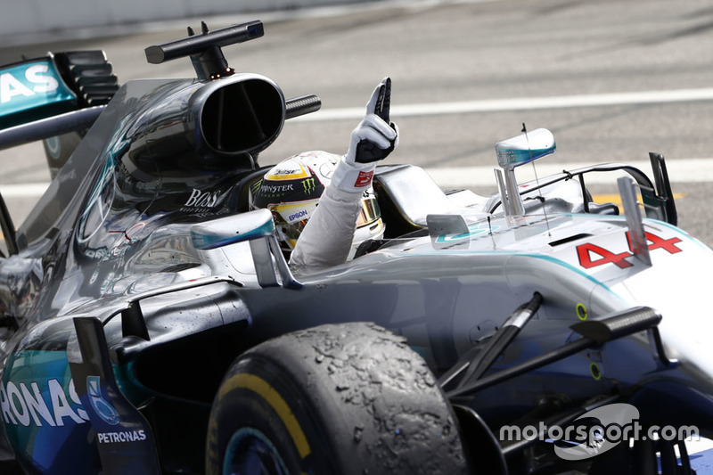 49- Gran Premio de Alemania 2016, Mercedes