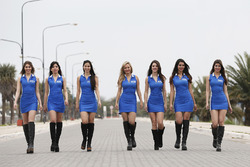 Schattige WTCC-meisjes