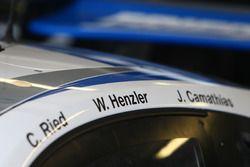 #78 KCMG Porsche 911 RSR, detay