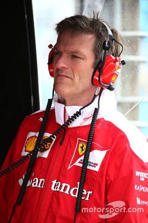 James Allison, directeur technique de Ferrari