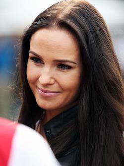 Minttu Virtanen, petite amie de Kimi Raikkonen, Ferrari