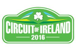 Circuit Of Ireland Rally 2016, logo