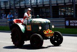 Mike Rockenfeller (GER) Audi Sport Team Phoenix, Audi RS 5 DTM at the Tractor race. 21.05.2016, DTM