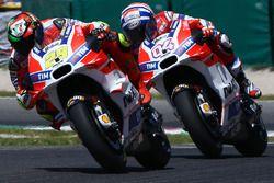 Андреа Янноне, Ducati Team и Андреа Довициозо, Ducati Team