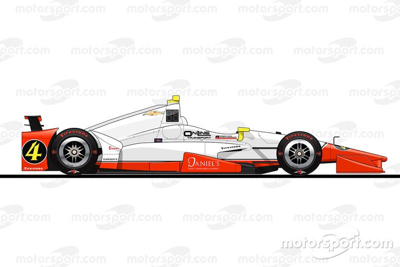 32. Бадди Лазьер, Lazier Burns Racing Chevrolet