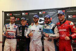 Davit Kajaia, Liqui Moly Team Engstler, Volkswagen Golf GTI TCR; Mato Homola, B3 Racing Team Hungary