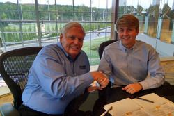 William Byron ve Rick Hendrick