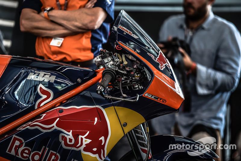 La KTM MotoGP