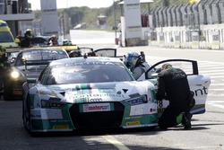 #28 Montaplast by Land-Motorsport, Audi R8 LMS:Christopher Haase, Frédéric Vervisch