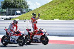Sieger Andrea Iannone, Ducati Team; 2. Andrea Dovizioso, Ducati Team