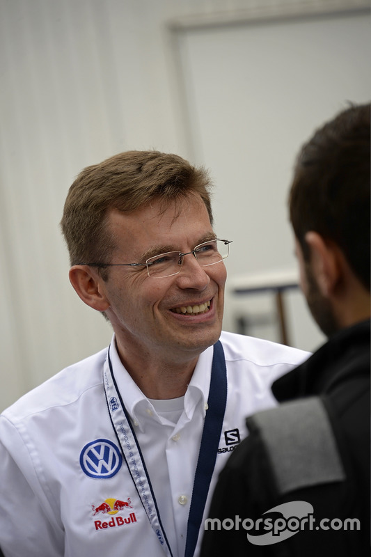 Dr. Frank Welsch, directeur du développement de Volkswagen