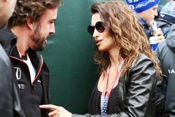 Fernando Alonso, McLaren met actrice Penelope Cruz